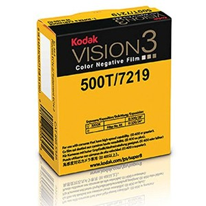 Kodak VISION3 500T/7219 Color Negative Film, SP464 Super 8 Cartridge, 50' Roll by Kodak