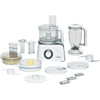 Bosch MCM4100 Compact Food Processor. White/ Anthracite Finish