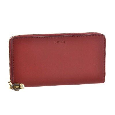 グッチ GUCCI 財布 長財布 453158 DVU0G 6433 【NYMPHAEA】 HIBIS RED