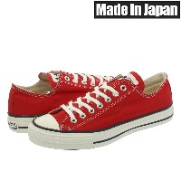 CONVERSE ALLSTAR J OX 【MADE IN JAPAN】【日本製】 コンバース オールスター J OX RED