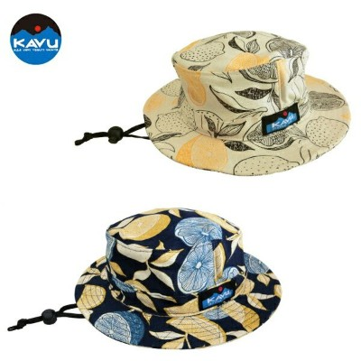 《KAVU/カブー》 K'S LEMON PATTERN BUCKET HAT【日本製】