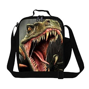 Generic Personalized Dinosaur Lunch Bag for Kids school Lunch Cooler Insulated Lunch Container by GIVE ME BAG