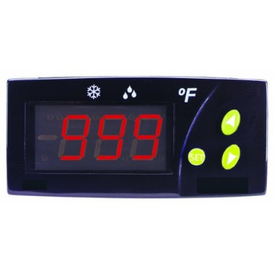 Dwyer Love Series TCS Thermocouple Temperature Switch, J, K, S Type Thermocouple Input, Red Display...