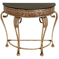 Deco 79 Metal Console Table, 41 by 33-Inch by Deco 79