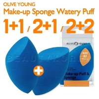 Olive Young Make-up Sponge Watery Puff オリーブヤング しっとりパフ/★1+1/2+1/2+2★ [安心/最安値/送料無料] オリーブヤング しっとりパフ(チョク