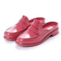 【SALE 40%OFF】ハンター HUNTER BACKLESS GLOSS PENNY LOAFER (ROS) レディース