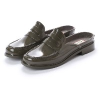 【SALE 40%OFF】ハンター HUNTER BACKLESS GLOSS PENNY LOAFER (SGR) レディース