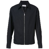 Lemaire zip front collared jacket - ブラック