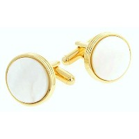 J。J。Weston Mother of Pearl Cufflinks。Made In The USA。