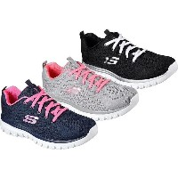 (A倉庫)SKECHERS スケッチャーズ 12615 Graceful-Get Connected  SKC 12615 レディーススニーカー シューズ 靴