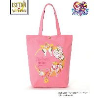 sailormoonxPINK HOUSE CHELSEA  ムーンメイクアップロゼッタトートバッグ(A2173PBG365) ピンク 【三越・伊勢丹/公式】 バッグ~~トートバッグ~~レディース...