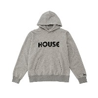 【SALE(三越)】 IN THE HOUSE  HOUSE SWEAT HOODIE(Men's) グレー 【三越・伊勢丹/公式】 メンズウエア~~パーカー