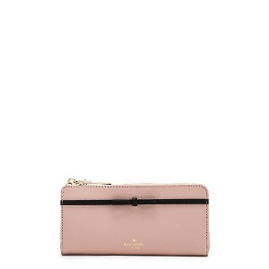 kate spade new york/ケイト・スペード  LAKEVIEW ROAD NISHA(PWRU6339) WARM VELLUM/BLACK(995) 【三越・伊勢丹/公式】 財布~...