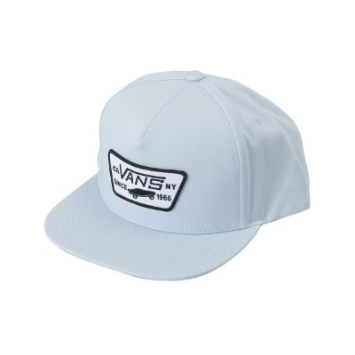 【VANSアパレル】 ヴァンズ キャップ(帽子) FULL PATCH SNAPBACK VN000QPU689 18SP BABY BLUE