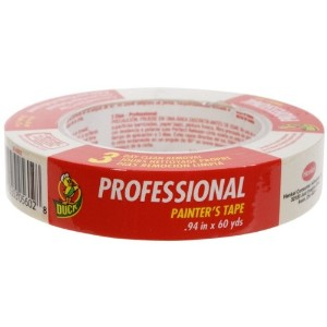 Duck Brand 1362488 Professional Painter's Tape, 0.94 Inches by 60 Yards, Beige, Single Roll by Duck