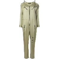 Barbara Bui zipped slouched jumpsuit - グリーン