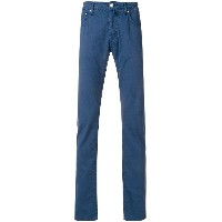 Jacob Cohen straight leg chinos - ブルー