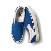【VANS】 CLASSIC SLIP-ON 98 DX ヴァンズ クラシックスリッポン 98 DX VN0A3JEXQF7 18SP (ANAHEIM)BLUE