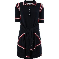 Thom Browne sailor knit dress - ブルー