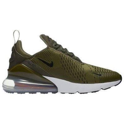 (取寄)ナイキ メンズ エア マックス 270 Nike Men's Air Max 270 Medium Olive Total Orange White
