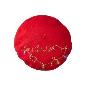 Collection XIIX レディース 女性用 ファッション雑貨 小物 帽子 べレー帽 Collection XIIX Light Up Beret - Red Combo
