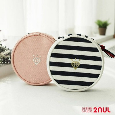 2nul Jewelry Pouch ジュエリーポーチ イヤリング リング 小物収納 日常ポーチ 宝石収納 ネックレス 収納ポーチ 旅行 出張 旅行用品 トラベル用品 アクセサリーポーチ