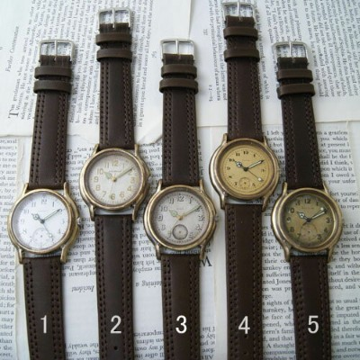 Vantique VINTAGE HANDMADE WATCH ONE & ONLY