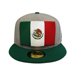 NEW ERA CITY SERIES 【HEATHER GRAND/GREY-GRN】 ニューエラ メキシコ MEXICO 59FIFTY フィッテッド キャップ FITTED CAP...