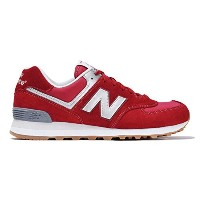 (ニューバランス) New Balance ML574HRT D 310 RED/GRAY