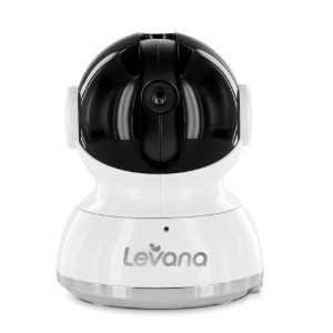 Levana Additional Pan/Tilt/Zoom Camera for Keera Baby Video Monitor with Invisible LEDs and Talk to...