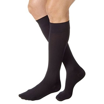 Jobst Relief Knee High 30-40mmHg Closed Toe, XL, Black by Jobst