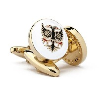 The WimbledonイーグルメンズCufflinks by Wimbledon Cufflink会社