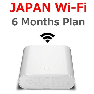 Travelers Wi-Fi/JAPAN Wi-Fi/LTE Unlimited/Wi-Fi Router with Pre-installed SIM card / MF855 7800mAh ...