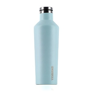 Corkcicle Canteen Waterman Collection – 水ボトル&  – Triple Insulated飛散防止ステンレススチール 16 oz グリーン C2016WS