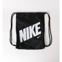NIKE(ナイキ) グラフィックジムサック 12L【グリーンレーベルリラクシング/green label relaxing キッズ その他(バッグ) BLACK ルミネ LUMINE】