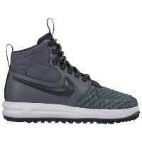 (取寄)ナイキ メンズ ルナ フォース 1 ダックブーツ Nike Men's Lunar Force 1 Duckboots Dark Grey Anthracite Vast Grey