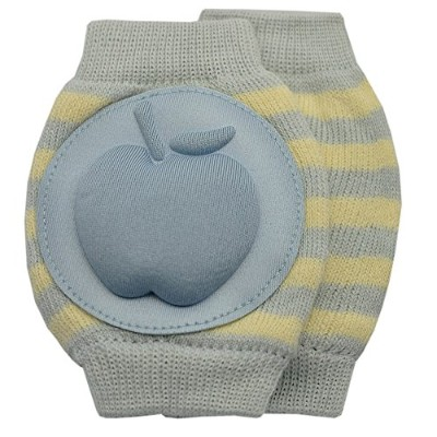 New Baby Crawling Knee Pad Toddler Elbow Pads 805527 Light Blue - Yellow by YEAHINSHOP