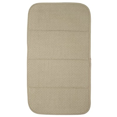 (41cm by 70cm, Cappuccino) - All-Clad Textiles Reversible Fast-Drying Mat, 41cm x 70cm, Cappuccino