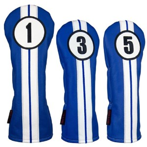 Rose & Fire Racing Stripes Premium USA Leather Headcover Set【ゴルフ アクセサリー>ヘッドカバー】