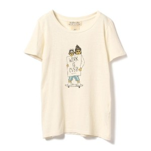 REMI RELIEF / WORK is OVER Tシャツ【ビームス ウィメン/BEAMS WOMEN レディス Tシャツ・カットソー OFF ルミネ LUMINE】