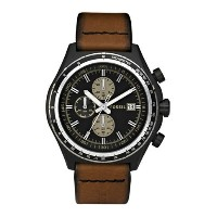 FOSSIL フォッシル メンズ腕時計 Chronograph Leather Watch Brown