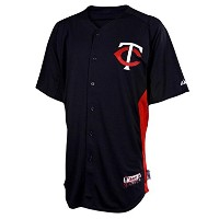 マジェスティックMinnesota TwinsサイズMedium Cool Base Batting Practice Jersey