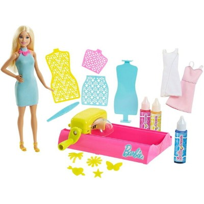 Barbie バービー Crayola Color Magic Station doll 人形 プレイセット おもちゃ Blonde