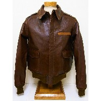 Buzz Rickson's[バズリクソンズ] A-2 ダグラス マッカーサー モデル 20周年 No.23380 ROUGH WEAR CLOTHING CO. BR80326 (S/BROWN)...