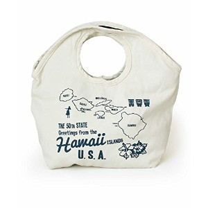 CULTURE MART ミニトートバッグ MINI TOTE BAG / WHITE×NAVY 101240-1