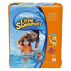 Huggies Little Swimmers Disposable Swimpants (Character May Vary), Medium 18 Count by Huggies ...