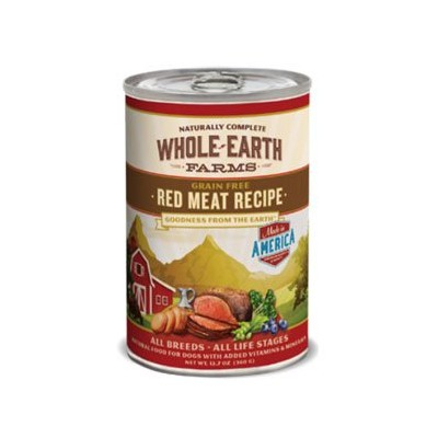 Whole Earth Red Meat 12/12oz by MERRICK PET FOOD