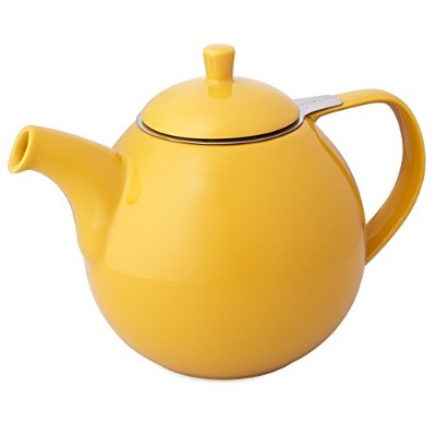 FORLIFEカーブ45-ounce Teapot with Infuser 45-Ounce/1330 ml イエロー 暂无