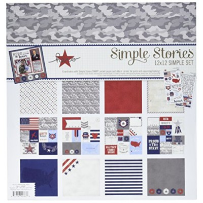 Simple Stories 2057 Hero Simple Sets Collection Kit, 12 by 12, Multicolor by Simple