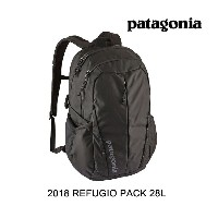 2018 PATAGONIA パタゴニア バックパック REFUGIO PACK 28L BLK BLACK